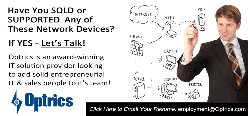 Edmonton IT Jobs, Careers with Optrics