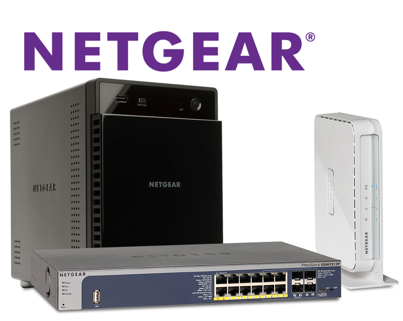 NetGear Storage Solutions, Wireless, Security, Switches