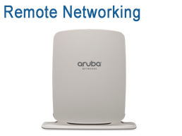 Aruba Remote Wireless Networking